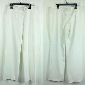 Trina Turk Pants Size 4 White Slacks